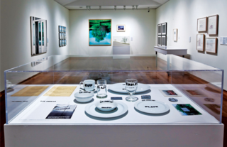Traffic: Conceptual Art in Canada 1965 – 1980. Installation view. Travelled to multiple Canadian Museums 2011-2012