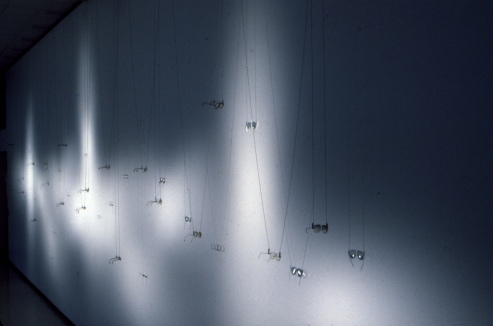Bill Jones, Second Sight, Installation view, The Castellani Museum, Niagra Falls NY, 2000.