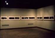 Bill Jones, The Garden Path, 1980, polyptych, color and silver prints, installation view Bill Jones 10 Years of Multiple Image Narratives, International Center of Photography, New York, 61 x 1219 cm, 2 x 40 feet