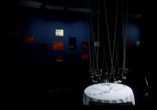 Bill Jones, Superstition, Installation view, Garnett Press Gallery Toronto, 1994