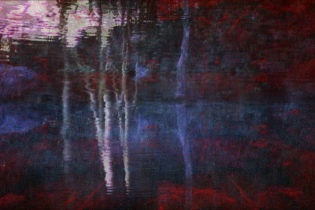 Bill Jones, Posthorn (still) 2006, digital print 24 x 30 ""