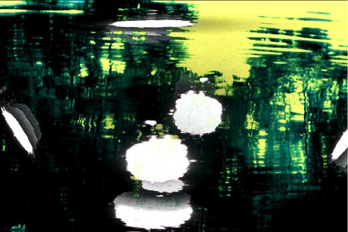 "Bill Jones, Electric Water 3, 2011, Iris Print, 30"" x 40""."