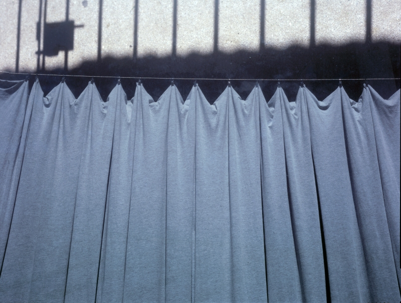 Final Curtain, 2015, multiple exposure, chromogenic print from 4x5 in. transparency.
