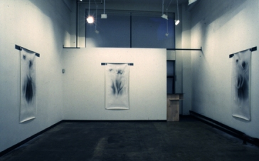Bill Jones, Installation view, 1989, Amy Lipton Gallery, NY