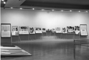 The Merchant of Venice, Installation view, Pacific Vibrations, The Vancouver Art Gallery, 1973
