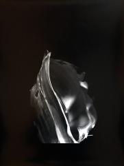 Se leva, 2016, silver print, 20 x 24 inches